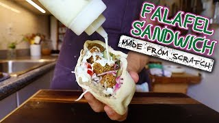The Art of Crafting the Perfect Sandwich Series - Falafel