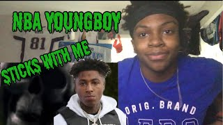 nba youngboy - sticks with me ( Reaction )