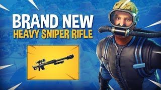 *NEW* Heavy Sniper Rifle! - Fortnite Battle Royale Gameplay - Ninja
