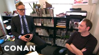 Conan Gives Staff Performance Reviews  - CONAN on TBS