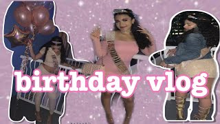 MY BIRTHDAY VLOG !