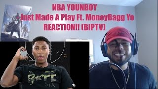 YoungBoy Never Broke Again - Just Made A Play Ft. MoneyBagg Yo REACTION!