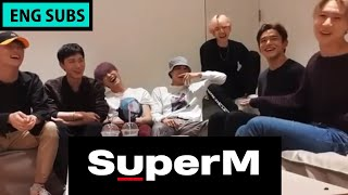 190911 TAEMIN Instagram Live w/ SuperM [ENG SUBS: 99%]