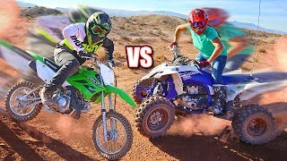 LAST TO STOP DRIVING EPIC DIRTBIKES & ATVs WINS!!!