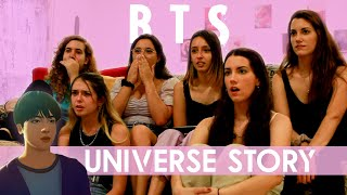 BTS (방탄소년단) BTS Universe Story 花樣年華 'MAP OF THE SOUL' | Spanish college students REACTION (ENG SUB)