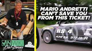 Even Mario Andretti can't get you out of this ticket!