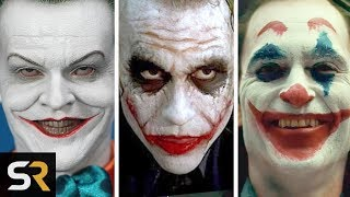 Why Actors Take Playing The Joker So Seriously