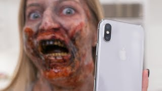 Zombie vs iPhone X Face ID