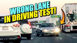 Wrong Lane in Driving Test!