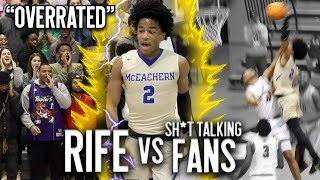 Sharife Cooper Drops 35 PTS vs SH*T TALKING Fans in HEATED Rivalry Matchup + FIRST POSTER DUNK???