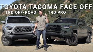 Toyota Tacoma: TRD Off-Road vs TRD Pro! | Comparison | Autotrader