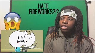 Reacting to ItsAlexClark - I Hate Fireworks. I'm Sorry.
