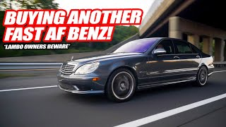 I BOUGHT A MERCEDES W/ THE PAGANI HUAYRA MOTOR FOR ONLY $17,000! Was it Worth It? *V12 TWIN TURBO*