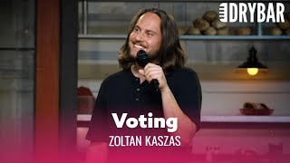 Voting Is The Adult Thing To Do. Zoltan Kaszas