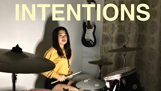 Justin Bieber- Intentions | Meanne Drum Cover