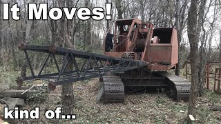 Insley Dragline Crane - Engine Tuning and First Moves in 20 Years! - Part 3