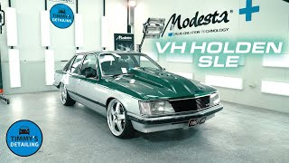 Holden VH SLE Classic car paint restoration & protection. Had a blast working on this Aussie BEAST