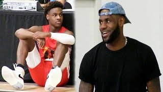 Bronny James Destroys 16 Year Olds to win his second Championship in ONE DAY!