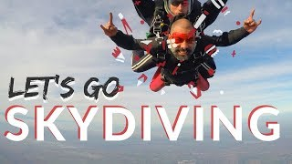 SKYDIVING Epic First jump adventure