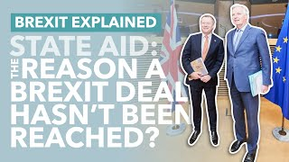 Brexit: How State Aid Became the Biggest Brexit Deal Breaker - TLDR News