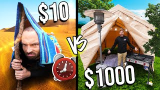 OVERNIGHT SURVIVAL CHALLENGE *COSTCO ITEMS ONLY*