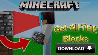 How to download Wisp's Minecraft but you get every block you look at | Minecraft | Aditya Raj