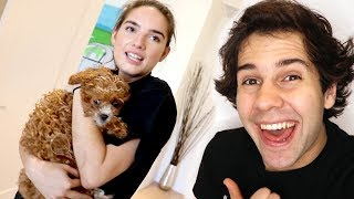 SHE THOUGHT SHE WON A NEW PUPPY!! BLOOPERS!!