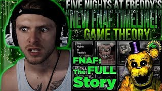 "Vapor Reacts #682 | FIVE NIGHTS AT FREDDY'S THEORY ""FNAF Final Timeline"" The Game Theorists REACTION"