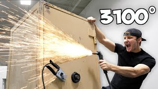 Breaking Into An Abandoned Safe With A Plasma Cutter!!