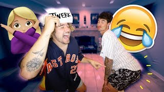 WHOS THE BETTER DANCER? (CAN WE TWERK)