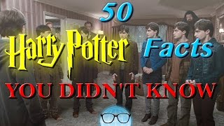 50 Harry Potter Facts YOU DIDN'T KNOW | The Geeky Informant