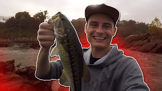 FISHING FOR RIVER MONSTERS! #5 (Bass Fishing) | DALLMYD