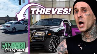 Here's how Travis Barker's Rolls Royce was stolen