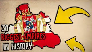 30 GREATEST EMPIRES IN HISTORY