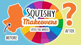 Squishy Makeovers: Spin The Wheel | Fixing Your Squishies #23