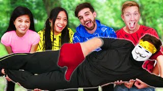WILL DEVSTER JOIN SPY NINJAS? Extreme Trick Shot Challenge vs Hacker Olympics for 24 Hours Wins