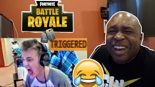 TRY NOT TO LAUGH Fortnite Best Moments Compilation REACTION (Fortnite Battle Royale Funny Moments)