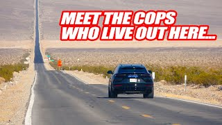 DRIVING SUPERCARS THROUGH 1 OF THE WORLD'S HOTTEST DESERTS! + Meeting Cops & People Living There!