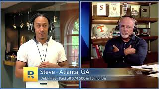 Steve's Debt Free Scream on The Dave Ramsey Show! Paid off $75,000 in 15 months.