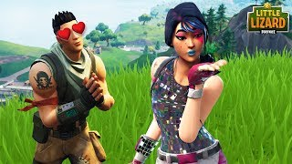 NOOB SAVES A GIRLS LIFE!! Fortnite Short
