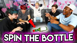 5 Guys Play SPIN THE BOTTLE | Sam Golbach