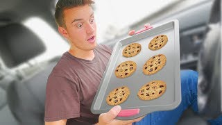 I Baked Cookies In My Car!!