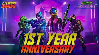 ZYLPHAN GAMING:- 1ST YEAR ANNIVERSARY CODM