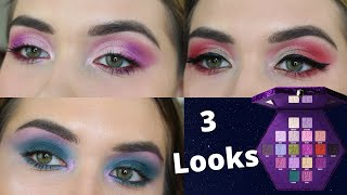 JEFFREE STAR COSMETICS BLOODLUST PALETTE 3 EYE LOOKS | STEP BY STEP IN-DEPTH HOODED EYES TUTORIAL