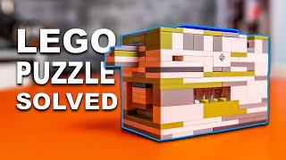 Solving The Most Difficult LEGO Puzzle!!