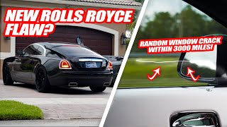 YOU WOULDN'T BELIEVE HOW WE CRACKED THIS NEW ROLLS ROYCE WRAITH WINDOW! *SUPERCAR RALLY CARNAGE*