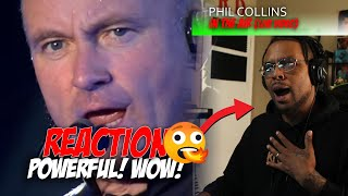Phil Collins - In The Air Tonight || Reaction (POWERFUL!!!!)