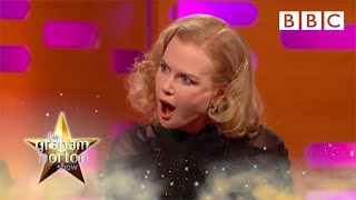 Meryl Streep and Nicole Kidman reveal their REAL birth names - The Graham Norton Show | BBC