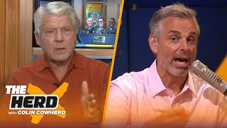 Jimmy Johnson reacts to Cowboys' Week 1 loss, Brady's Bucs & Joe Burrow's debut | NFL | THE HERD
