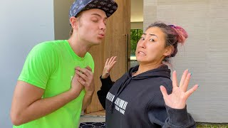KISSING MY Ex GIRLFRIEND AND SAYING NOTHING!!